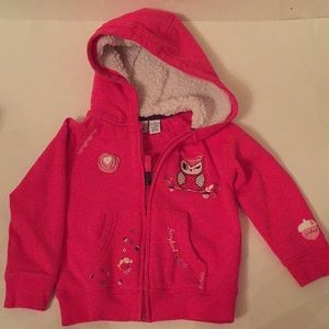 Other - Toddler Girl Warm Sweater Hoodie
